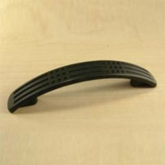 Majestic 3 Inch Center to Center Matte Black Cabinet Pull <small>(#29533-MB)</small>