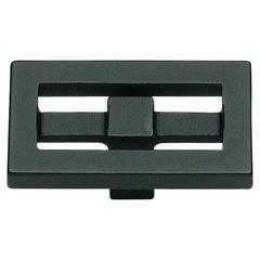 Nobu 1-3/4 Inch Diameter Black Cabinet Knob