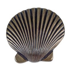 Sea 2 Inch Diameter Burnished Bronze Cabinet Knob