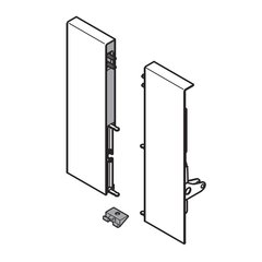 "Tandembox Interior Front Fixing Bracket Set Nickel ""D"" <small>(#ZIF.82D0.01)</small>"