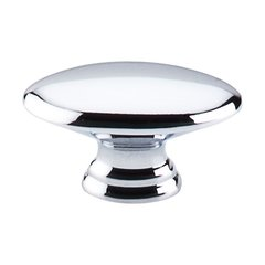 Nouveau 7/8 Inch Center to Center Polished Chrome Cabinet Knob <small>(#M380)</small>