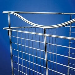 Pullout Wire Basket 18 inch W x 14 inch D x 7 inch H <small>(#CB-181407SN-5)</small>