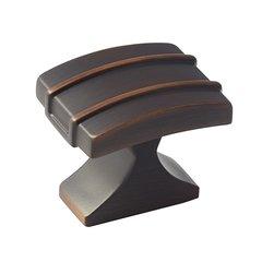 Davenport 1-1/4 Inch Diameter Oil Rubbed Bronze Cabinet Knob <small>(#BP36601ORB)</small>