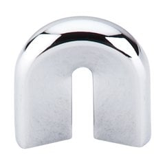 Nouveau II 3/4 Inch Center to Center Polished Chrome Cabinet Pull <small>(#M556)</small>
