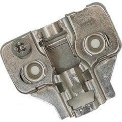 34% OFF Builders Line Long Arm Hinge Baseplate - 4mm Frameless Cabinet Clip Plate - Screw-On - Cam Adjustable