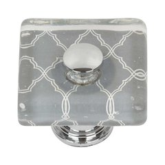 Cheetah 1-1/2 Inch Diameter Polished Chrome Cabinet Knob