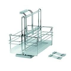 Kessebohmer Two Basket Storage Unit Pullout Chrome 545.48.261