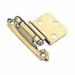 "3/8"" Inset Hinge Polished Brass-Sold Per Pair <small>(#CM71283)</small>"
