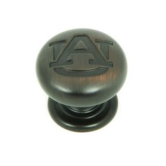 Collegiate 1-1/4 Inch Diameter Oil Rubbed Bronze Cabinet Knob <small>(#CL82980-OB-AUB)</small>