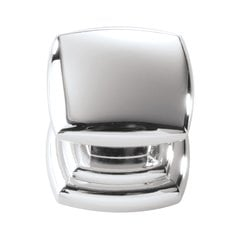 Euro-Contemporary 1-1/4 Inch Diameter Chrome Cabinet Knob <small>(#P3181-CH)</small>