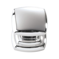 Euro-Contemporary 1-1/4 Inch Diameter Chrome Cabinet Knob