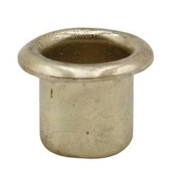1/4 inch Shelf Grommet Bright Brass