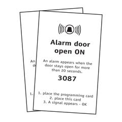 FPS Alarm Card Set