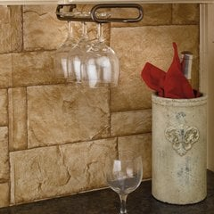 "Single Stemware Holder 16"" D- Oil Rubbed Bronze"