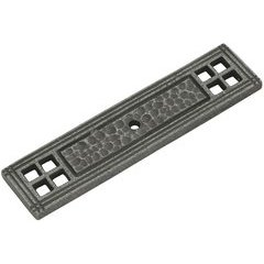 Kingston Back-plate 4-1/4 inch x 1 inch Old English Pewter