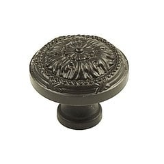 Georgian 1-1/4 Inch Diameter Oil Rubbed Bronze Cabinet Knob