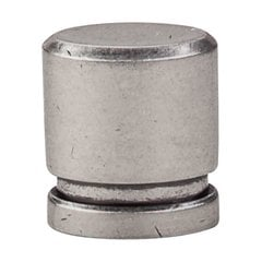 Sanctuary 1 Inch Length Pewter Antique Cabinet Knob <small>(#TK57PTA)</small>