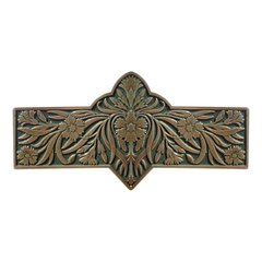 English Garden 3 Inch Center to Center Antique Brass Cabinet Pull <small>(#NHP-678-AB-C)</small>