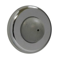 Convex Wrought Wall Bumper Bright Chrome