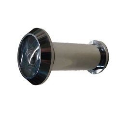 Door Viewer 180 Degree View Dimension Satin Chrome
