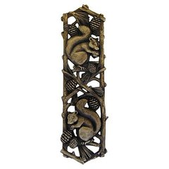 Great Outdoors 3 Inch Center to Center Antique Brass Cabinet Pull <small>(#NHP-677-AB)</small>