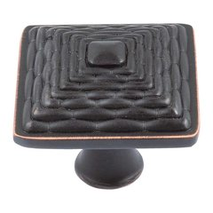 Mandalay 1-1/4 Inch Diameter Venetian Bronze Cabinet Knob