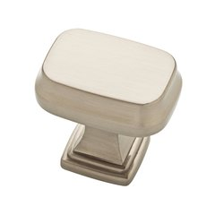 "Emberlee Knob 1-1/5"" Dia Satin Nickel"