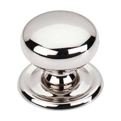 Asbury 1-1/4 Inch Diameter Polished Nickel Cabinet Knob <small>(#M1316)</small>