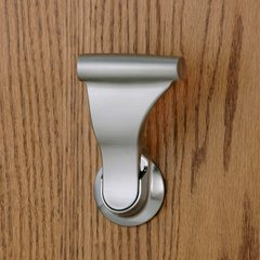 "Closet UltraLatch for 1-3/4""& 2"" Door Satin Nickel <small>(#LCL-15)</small>"