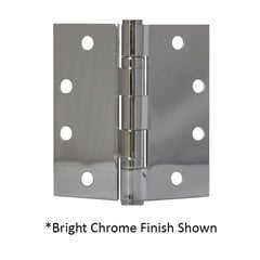 Full Mort. Ball Bearing Hinge 4-1/2 inch x 4-1/2 inch Satin Bronze