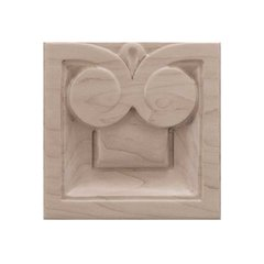 Brown Wood Medium Madeline Tile Unfinished Hard Maple 01902518HM1