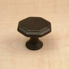 Apac 1-3/16 Inch Diameter Oil Rubbed Bronze Cabinet Knob