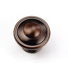Windsor 1-1/8 Inch Diameter Venetian Bronze Cabinet Knob <small>(#24177)</small>