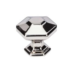 Transcend 1-1/4 Inch Diameter Polished Nickel Cabinet Knob <small>(#TK713PN)</small>