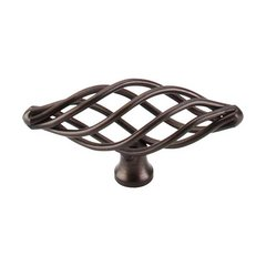Normandy 3 Inch Length Oil Rubbed Bronze Cabinet Knob