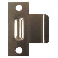 Extended Lip Strike 2-1/4 inch x 2-1/2 inch Duruatic Brown Coated <small>(#EL-125-DU)</small>