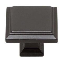 Sutton Place 1-1/4 Inch Diameter Modern Bronze Cabinet Knob