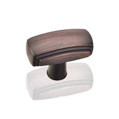 Delgado 1-9/16 Inch Diameter Dark Brushed Antique Copper Cabinet Knob <small>(#519DBAC)</small>