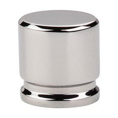 Sanctuary 1-1/8 Inch Length Polished Nickel Cabinet Knob <small>(#TK59PN)</small>
