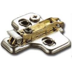 Salice 0MM Clip On Mounting Plate <small>(#BAR3L0/F)</small>