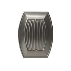 Allison Blank Wall Plate Satin Nickel