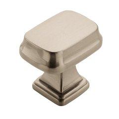 Revitalize 1-1/4 Inch Length Satin Nickel Cabinet Knob