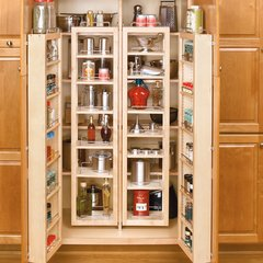 "51"" Swing Out Pantry Kit Maple"