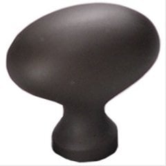 Country 1-3/8 Inch Diameter Oil Rubbed Bronze Cabinet Knob