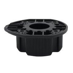 15MM Dowel Mount Plastic Socket Black