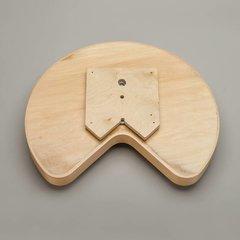 """Rev-A-Shelf Kidney Shape Single Shelf 32"""" Diameter - Wood LD-4BW-401-32SBS-1"""