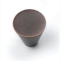 Delano 3/4 Inch Diameter Venetian Bronze Cabinet Knob <small>(#26077)</small>