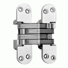 #418 Fire Rated Invisible Hinge Black E Coat