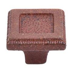 Britannia 1-5/16 Inch Diameter True Rust Cabinet Knob