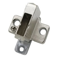 Clip 2 Piece Mounting Plate For Euro-screw 18MM
